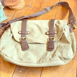 Aldo messenger flap bag
